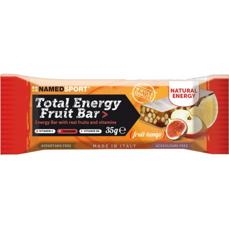 BARRITA TOTAL ENERGY FRUIT BAR NAMED SPORT 35 GRAMOS.
